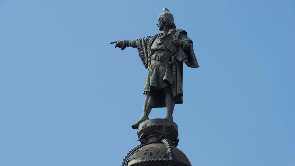 Cristóbal Colón catalán: la estatua de la discordia.