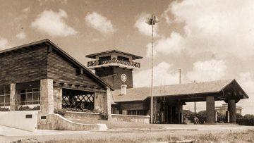 Chivito uruguayo: de Punta del Este a Pedidos Ya. Estación de servicio Ancap, circa 1945.