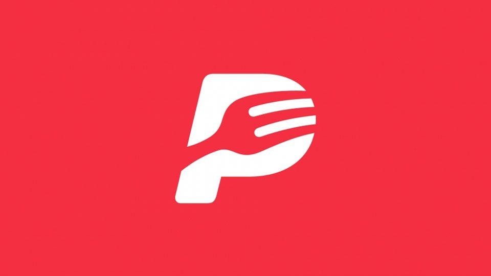 Nueva marca de PedidosYa, ¿la P del logotipo PayPal?