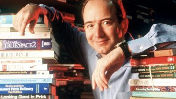 Jeff Bezos a los 32 años.