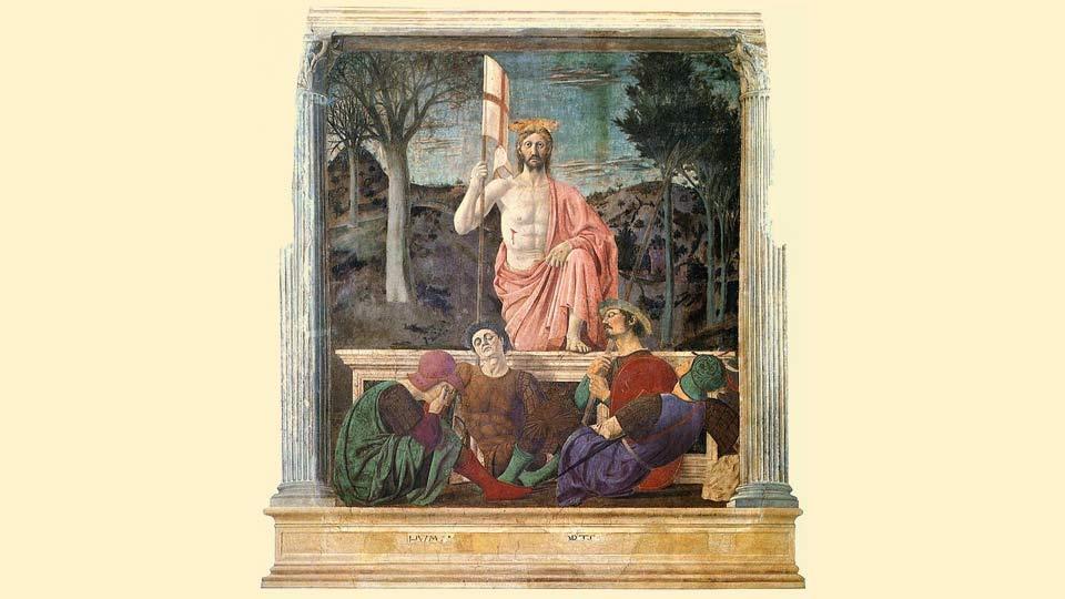 Semana Santa 2021: La Resurrección de Jesús según Piero della Francesca.