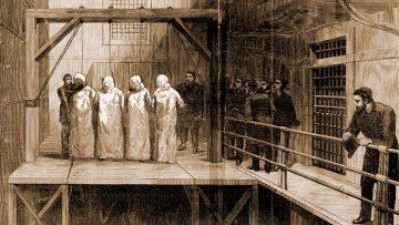 Día Internacional de los Trabajadores: ejecución de los Mártires de Chicago.