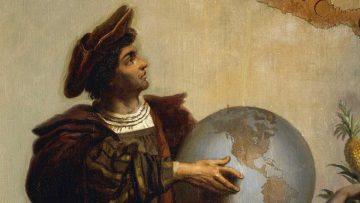 Cuba era Japón: retrato del Almirante Cristóbal Colón.