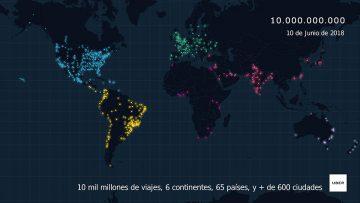 Ubérrima Uber en el todo el mundo: los números.