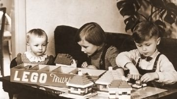 Kjeld Kirk Kristiansen, dueño de Lego, en 1954.