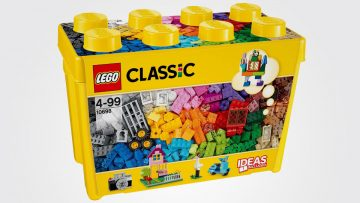 Lego Classic: ideas incluidas, libertad asegurada.