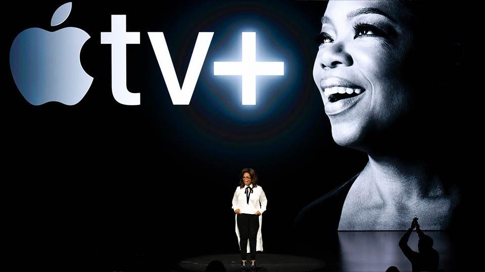 Oprah en el Special Apple Event 2019.