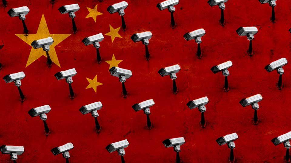 Peligro chino por todos los medios: alguien te está mirando.