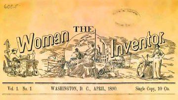 """La mujer inventora"", revista de Charlotte Smith."