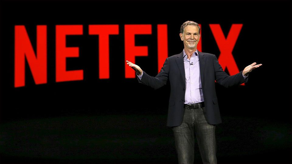 Reed Hastings, cofundador de Netflix, se disculpa por su éxito.
