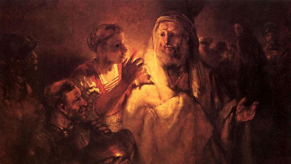 ¿Qué Apóstol negó a Jesucristo?