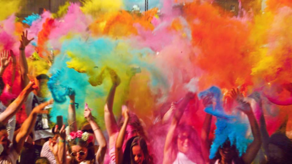 Elección de colores: la clave de todo evento.