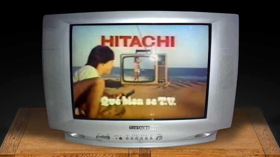 Hitachi, qué bien se te ve.