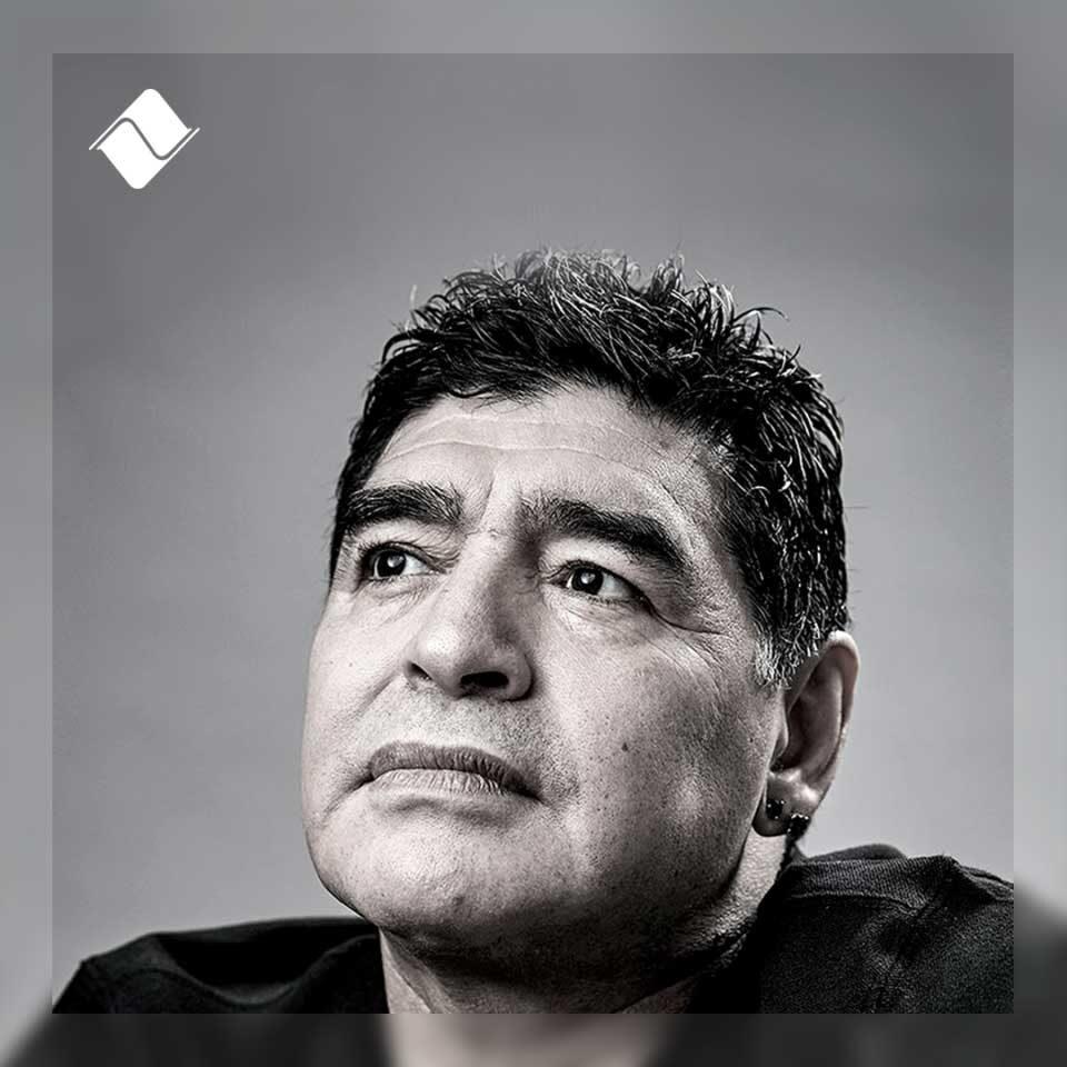 Diego Armando Maradona 1960-2020.