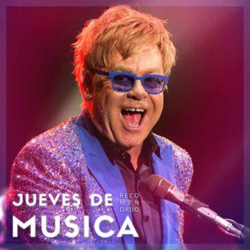 Jueves de Música 25/03/2021: Sir Elton John.