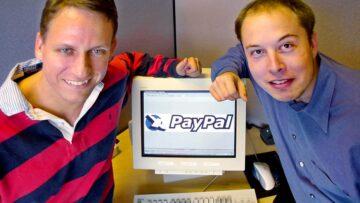 Ecommerce argentino 2021: Peter Thiel, Elon Musk y su PayPal en 2000.