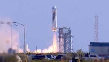 Día del Amigo 2021: Jeff Bezos y su vueltita por el espacio.