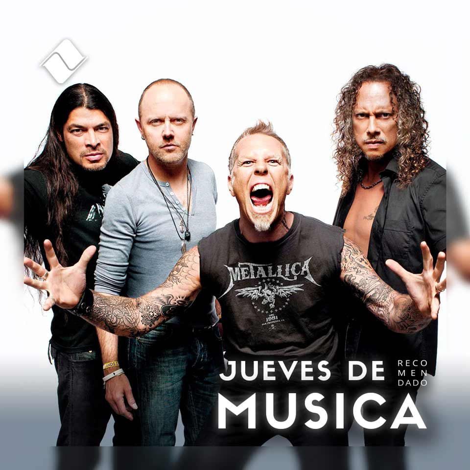 """Jueves de Música 12/08/2021: 30 años de Metallica """"The Black Album""""."""