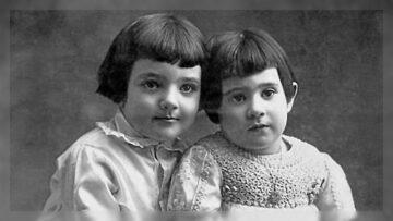 Julio y Lía Cortázar circa 1917.