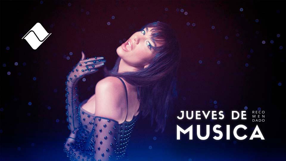 """Jueves de Música 23/09/2021: Dua Lipa """"Levitating""""."""