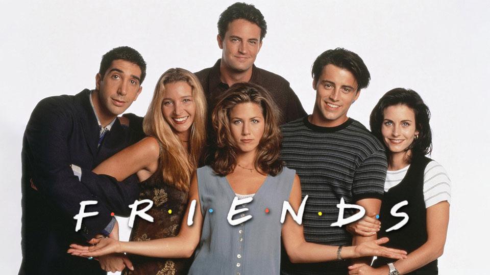 Friends 27 años después.