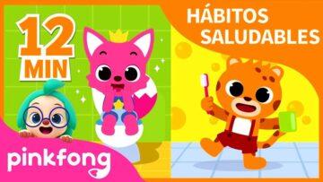 Pinkfong, un catálogo de lo que los chicos primero nos enseñan a los adultos.