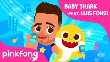 Baby Shark Dance, Pinkfong y los chicos primero.