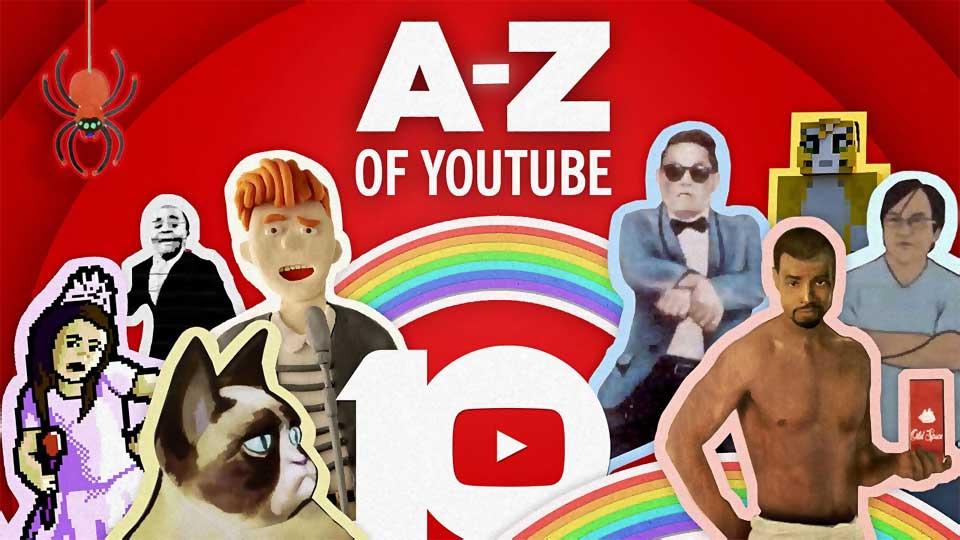 10 años de YouTube: de la A a la Z.Veronese Producciones · Publicidad Integral.