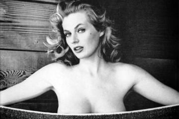 Anita Ekberg: una toalla y después…